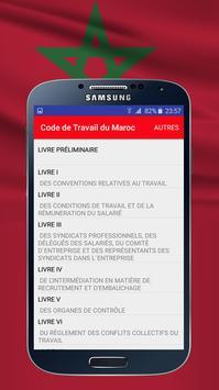 Code de Travail du Maroc screenshot 1