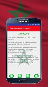 Code de Travail du Maroc screenshot 2