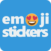 Emoji Stickers - Social share emoticons icon