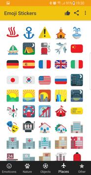Emoji Stickers - Social share emoticons apk screenshot
