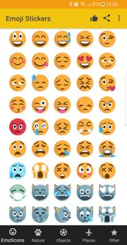 Emoji Stickers - Social share emoticons poster