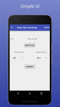 Easy File Converter screenshot 1