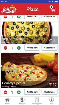 Jain Fast Food screenshot 2