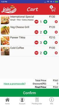 Jain Fast Food screenshot 6