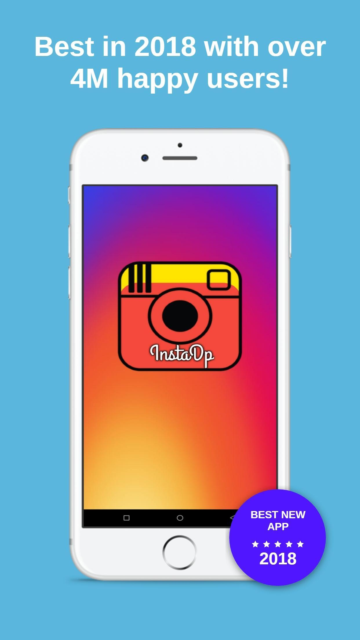 InstaDp - Save Instagram Profile Pictures in HD for Android - APK