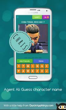 Agent Ali Guess Character Name screenshot 2