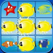 fish 3 match icon
