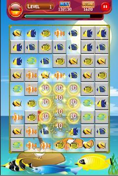 fish 3 match screenshot 1
