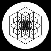 PolyPic: Polygon photo effect icon