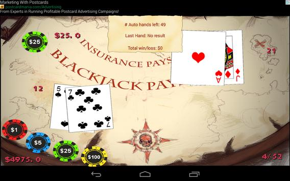 Blackjack Booty screenshot 3