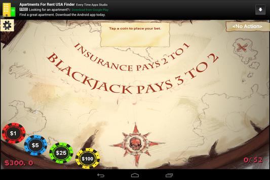Blackjack Booty screenshot 2