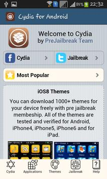 Cydia for Android screenshot 1