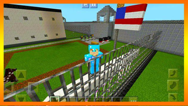 New prison roblox map for MCPE poster
