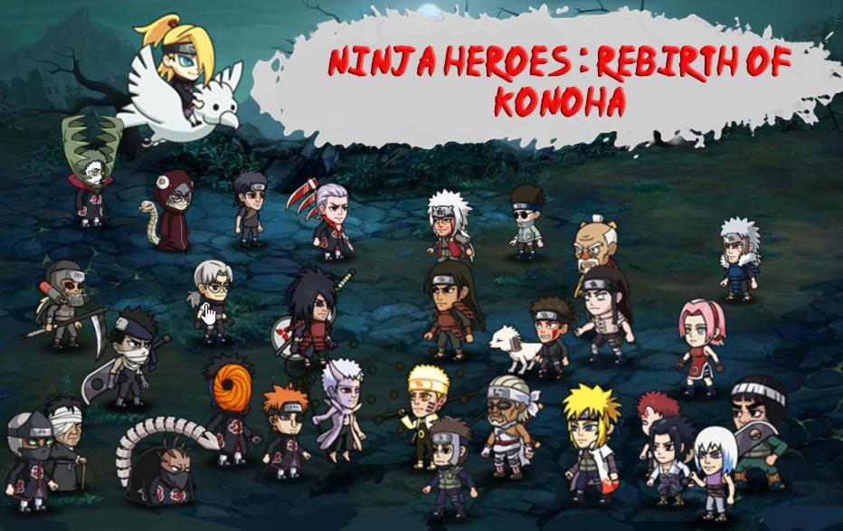 Ninja Heroes Konoha Rebirth War Pour Android Telechargez L Apk