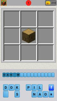Crafting Quiz for Minecraft poster