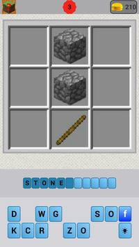 Crafting Quiz for Minecraft apk screenshot