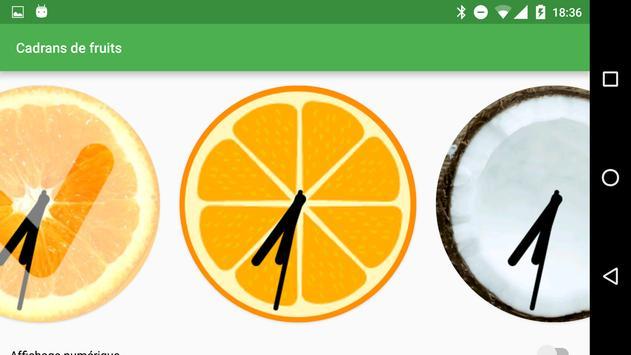 Fruity Watchfaces screenshot 1