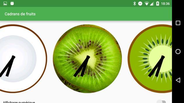 Fruity Watchfaces screenshot 2