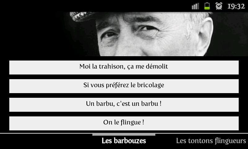 PORTABLE FLINGUEURS LES TONTONS SONNERIE TÉLÉCHARGER