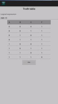 Mathematical calculations apk screenshot
