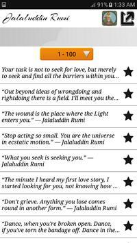 Jalaluddin Rumi Quotes - Sufi screenshot 2
