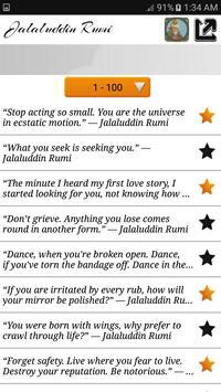 Jalaluddin Rumi Quotes - Sufi screenshot 3