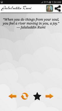 Jalaluddin Rumi Quotes - Sufi screenshot 5