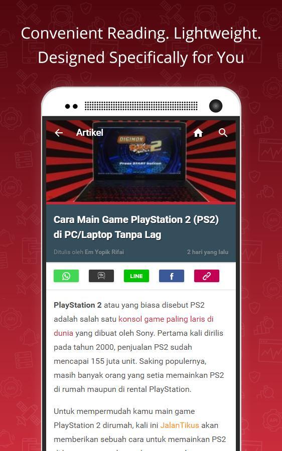 JalanTikus for Android - APK Download