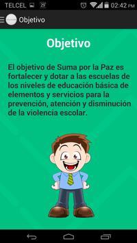 Suma Por La Paz screenshot 2