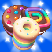Sweet Cookies - Match 3 Games & Free Puzzle Game icon