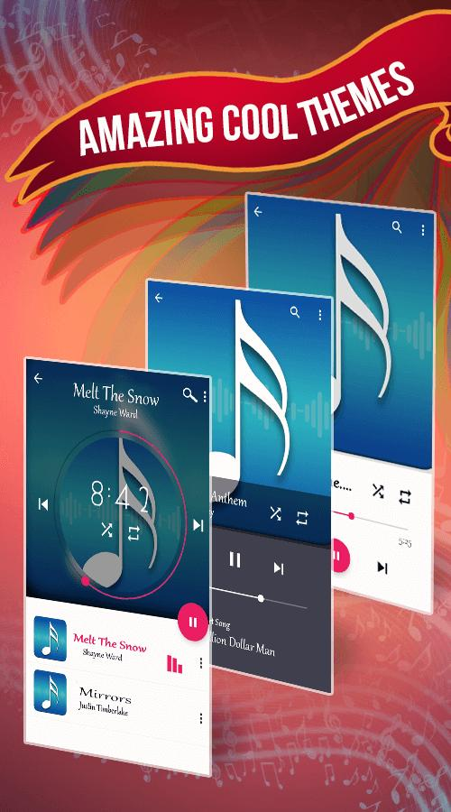 Audio Music & Mp3 HD Player: Portable Music Box for Android