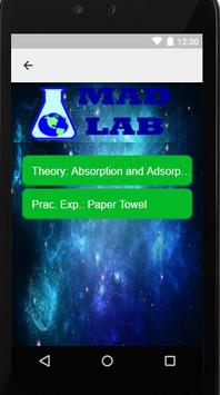 Mad Lab - Science Theory and  Experiments apk screenshot