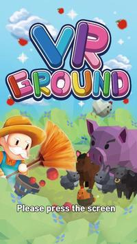VR GROUND poster