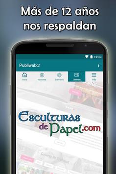 Publiwebcr apk screenshot