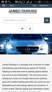 Jambo Parking poster
