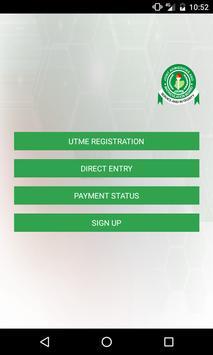 JAMB Registration poster