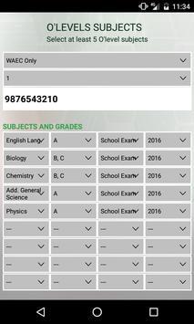 JAMB Registration apk screenshot
