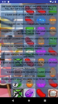 Tips Best for: Candy Crush Saga screenshot 1