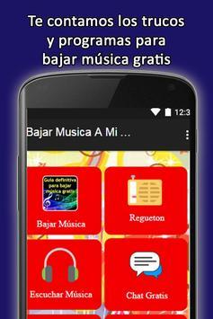 Como Bajar Musica Gratis MP3. Guia práctica poster