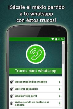 Consejos trucos para Whatsapp apk screenshot