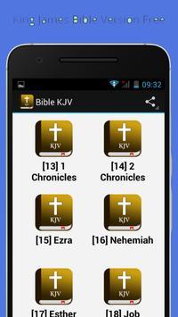 Holy Bible KJV (mp3) screenshot 5