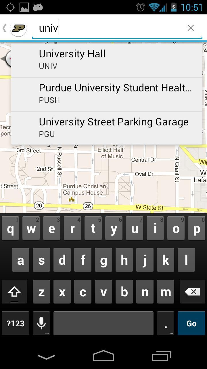 Purdue Maps poster