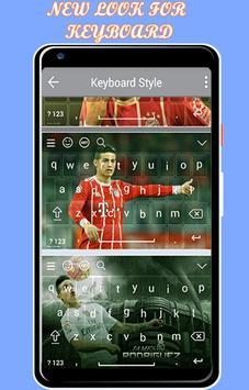 keyboard theme for James Rodríguez screenshot 1