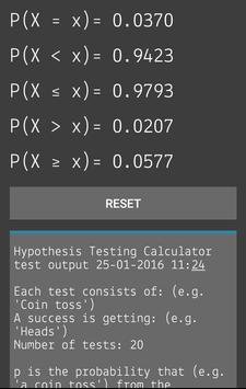 Hypothesis Testing Calculator screenshot 3