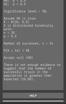 Hypothesis Testing Calculator screenshot 4
