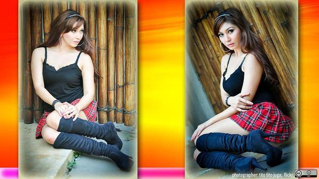 Hundreds poses for photo apk screenshot