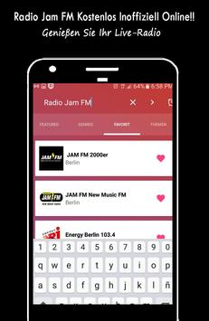 Radio Jam FM Free Unofficially Online poster