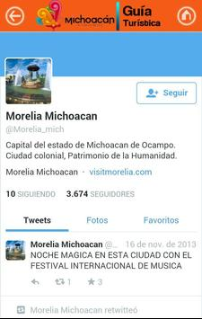 Guía Michoacán screenshot 14