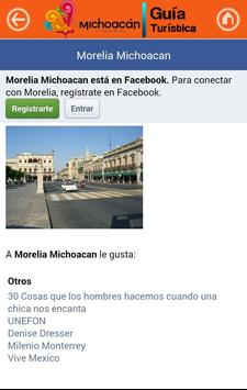 Guía Michoacán screenshot 12