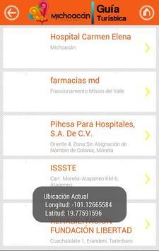 Guía Michoacán screenshot 2
